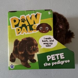 Paw pale dog